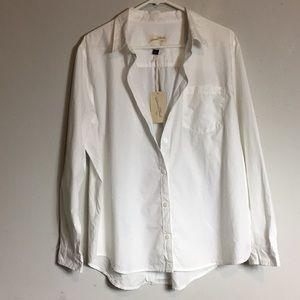 Universal Thread Women's Buttondown White Shirt XL